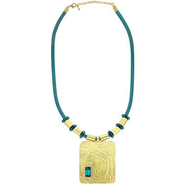 Spargz Alloy Metal Necklace_Mala049