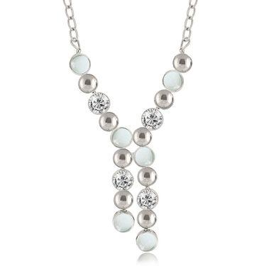 Spargz Alloy Metal Necklace_Mala074