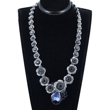 Spargz Alloy Metal Necklace_Mala076