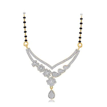 Spargz Brass Metal Mangalsutra Set_Aims071