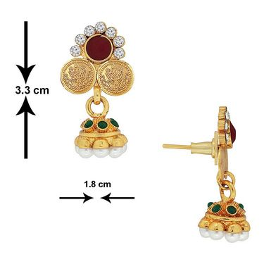 Spargz Brass Metal Pendant Set_Aips148