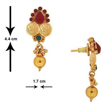 Spargz Brass Metal Pendant Set_Aips149