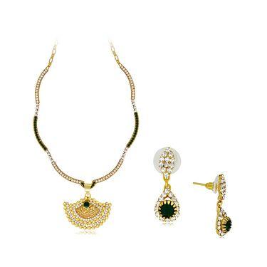 Spargz Brass Metal Pendant Set_Aips188