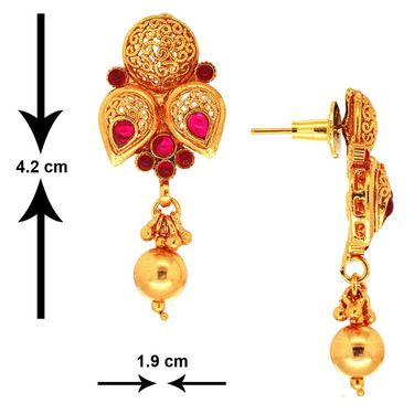 Spargz Brass Metal Pendant Set_Kls2083
