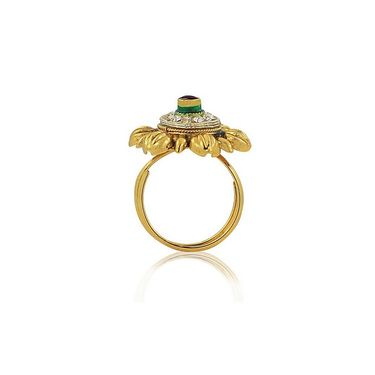 Spargz Alloy Metal Finger Ring_Aifr003
