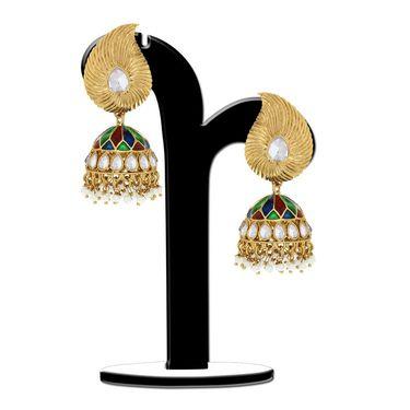 Spargz Brass Metal Earring_Aier368