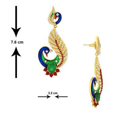 Spargz Brass Metal Earring_Aier370