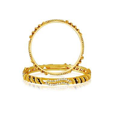 Spargz Brass Metal Bangle_Aib032