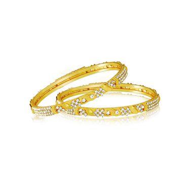 Spargz Brass Metal Bangle_Aib038