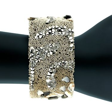 Spargz Alloy Metal Bracelet_Aibr030