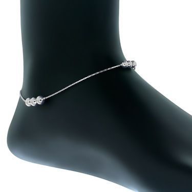 Spargz Alloy Metal Anklet_Aiank005