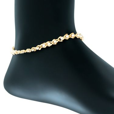 Spargz Alloy Metal Anklet_Aiank011