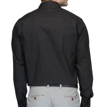 Being Fab Cotton Formal Shirt_Bfs02 - Black