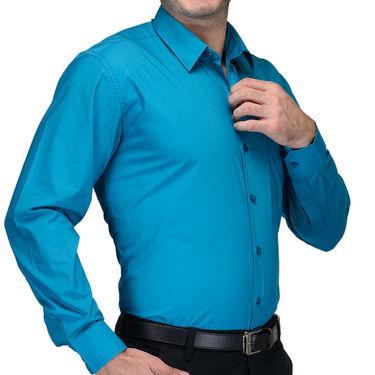 Being Fab Cotton Formal Shirt_Bfs12 - Blue