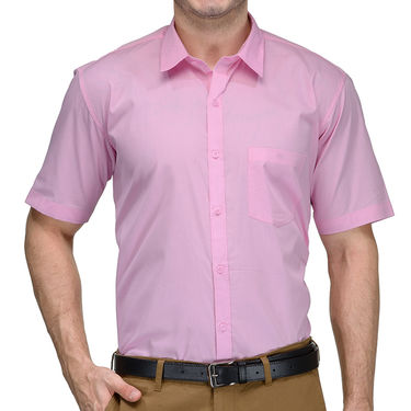 Being Fab Cotton Formal Shirt_Bfs26 - Pink
