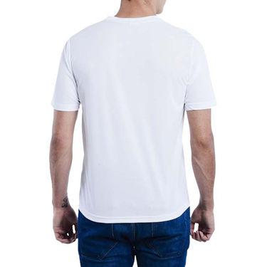 Pack of 2 Oh Fish Plain Round Neck Tshirts_Df2bluwht - Blue & White