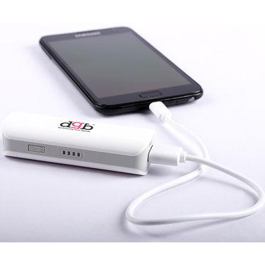 DGB Mustang PB-2400 DGB Power Bank 2200 mAh - White