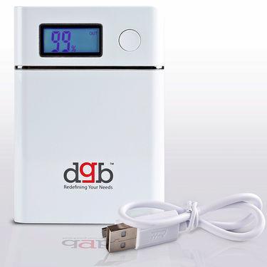 DGB Maven PB11000 10400 mAh Power Bank- White