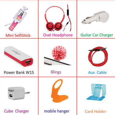 Callmate Combo of On-the-Go Mobile Accessories(9)