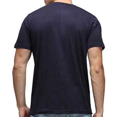 Effit Half Sleeves Round Neck Tshirt_Etscrn023 - Navy Blue
