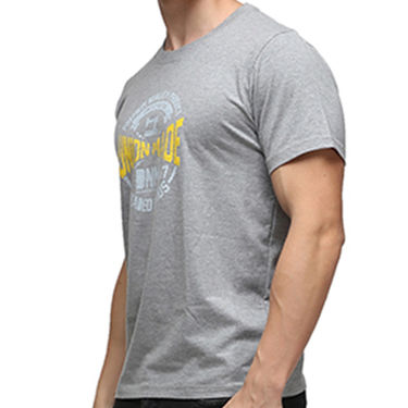 Effit Half Sleeves Round Neck Tshirt_Etscrn031 - Grey