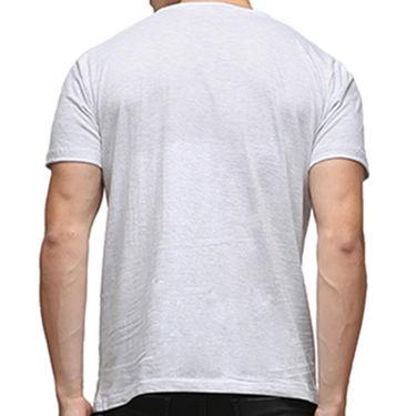 Effit Half Sleeves Round Neck Tshirt_Etscrnl020 - Light Grey