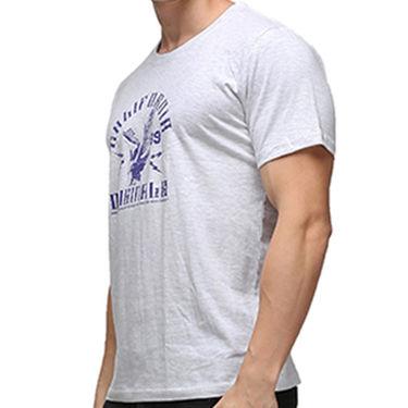 Effit Half Sleeves Round Neck Tshirt_Etscrnl027 - Light Grey