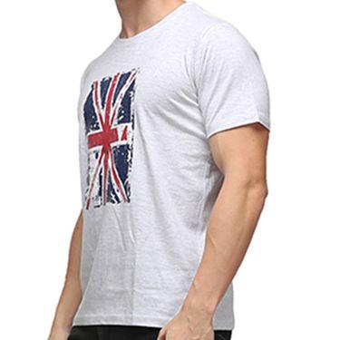 Effit Half Sleeves Round Neck Tshirt_Etscrnl033 - Light Grey