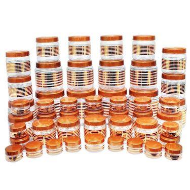 Princeware Julia 50 Pcs Combo Set-Copper