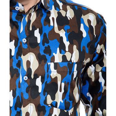Printed Cotton Shirt_Gkdcsblubl - Multicolor