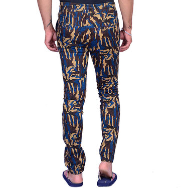 Printed Cotton Trackpant_Gkcam004 - Multicolor