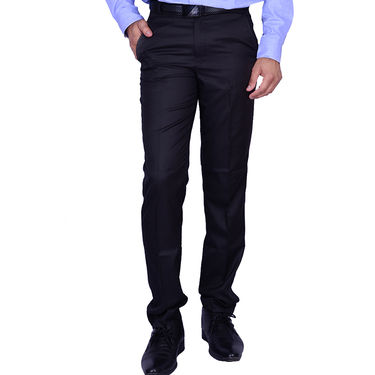 Plain Cotton Trouser_Gksuitingn - Navy
