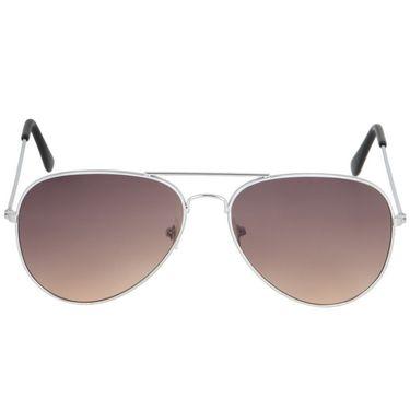 Alee Aviator Metal Unisex Sunglasses_Rs0210 - Brown