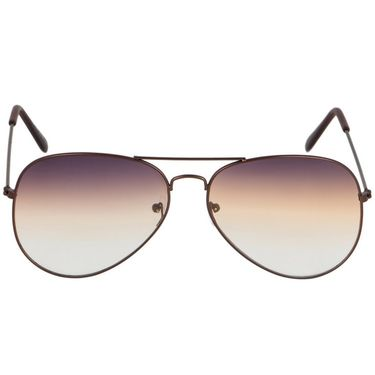 Alee Aviator Metal Unisex Sunglasses_Rs0211 - Brown