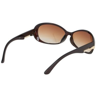 Alee Oval Plastic Women Sunglasses_Rs0222 - Brown
