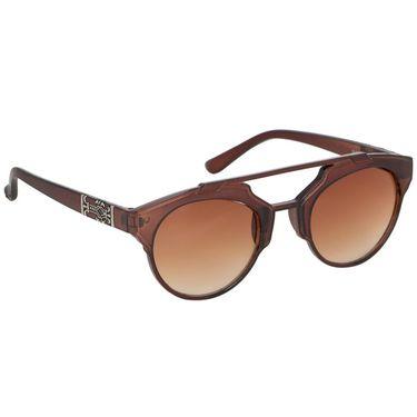 Alee Wayfare Plastic Unisex Sunglasses_Rs0238 - Brown