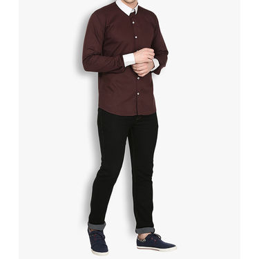 Stylox Cotton Shirt_brwnp029 - Brown