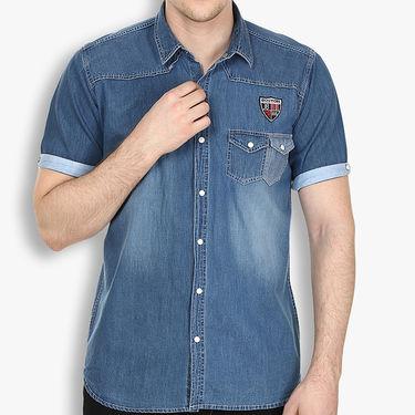 Stylox Cotton Shirt_Lbdenm214s - Light Blue