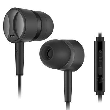Lava Elements In-Ear Headphone (Black )