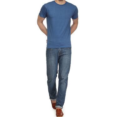 Rico Sordi 100% Cotton Tshirt For Men_Rnt022 - Light Blue