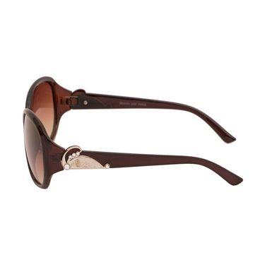 Adine Oval Plastic Women Sunglasses_Rs03