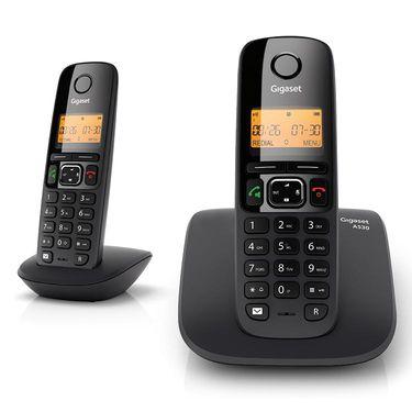 Gigaset A530 Duo Black Cordless Landline Phone