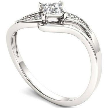 Kiara Swarovski Signity Sterling Silver Sarika Ring_KIR1001