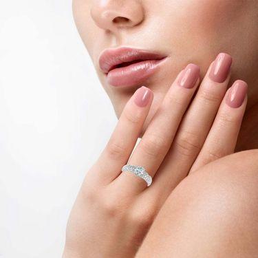 Kiara Swarovski Signity Sterling Silver Aarchi Ring_KIR1039