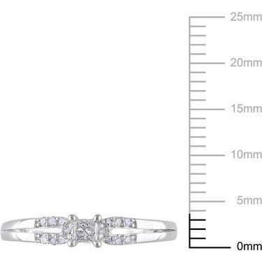 Kiara Swarovski Signity Sterling Silver Sadhna Ring_KIR1052