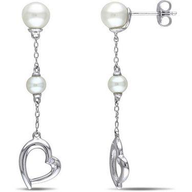 Kiara Swarovski Signity Sterling Silver Anushka Earring_KIE0533