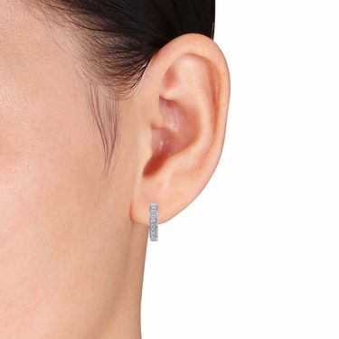 Kiara Swarovski Signity Sterling Silver Krupali Earring_KIE0453