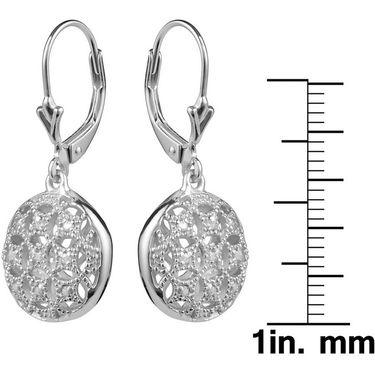Kiara Swarovski Signity Sterling Silver Poonam Earring_KIE0463