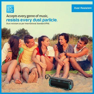 Envent Water & Impact Resistant Bluetooth Portable Speaker LiveFree 530 - Blue