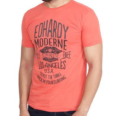Branded Cotton Slim Fit Tshirt_Edho07 - Orange